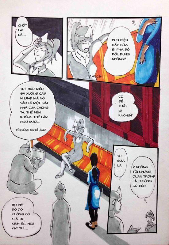 Truyện tranh Linh Hồn Bưu Điện 06