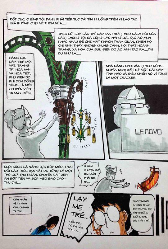 Truyện tranh Linh Hồn Bưu Điện 09