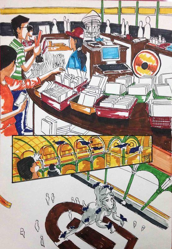 Truyện tranh Linh Hồn Bưu Điện 13