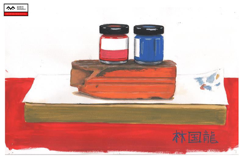bài tập basic painting Nguyễn Quang Bảo