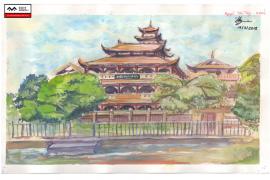[Hình ảnh] Bài basic painting  – Nguyễn Tấn Thy