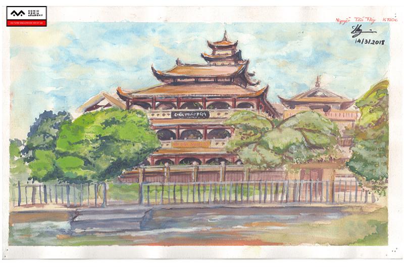 Bài basic painting- Nguyễn Tấn Thy