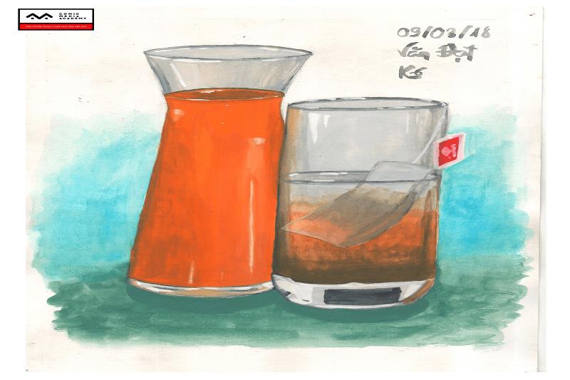 Bài tập basic painting Nguyễn Văn Đạt