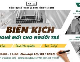 talkshow Biên kịch - Nghề mới cho người trẻ