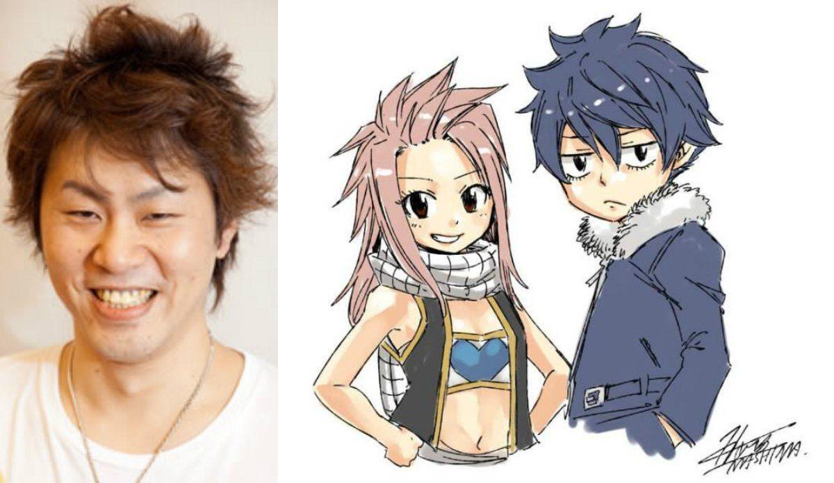 Fairy-Tail-Hiro-Mashima-Nalu-Gruvia-kids