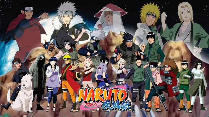 truyện tranh Naruto