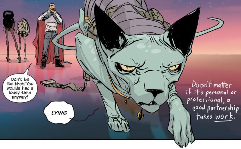 truyện tranh Saga lying cat