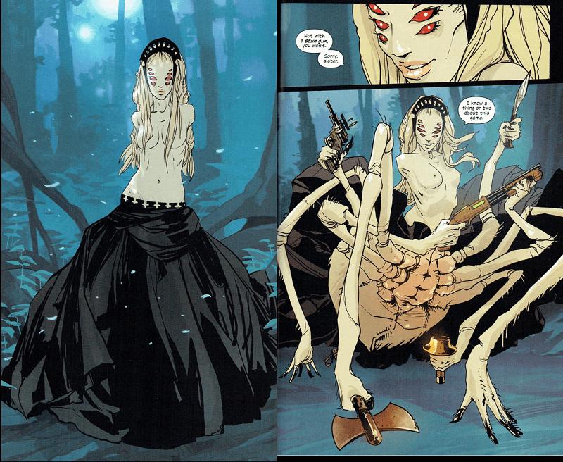 quái vật trong truyện saga