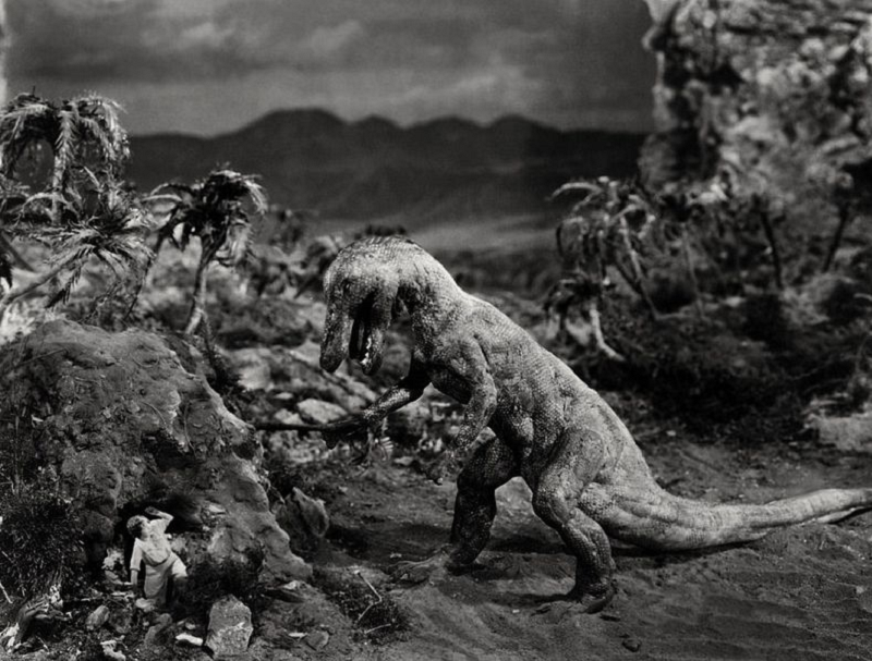 stop motion the lost world 1925