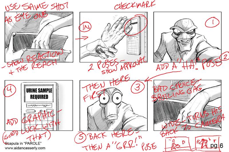 họa sĩ kể chuyện (story artist)