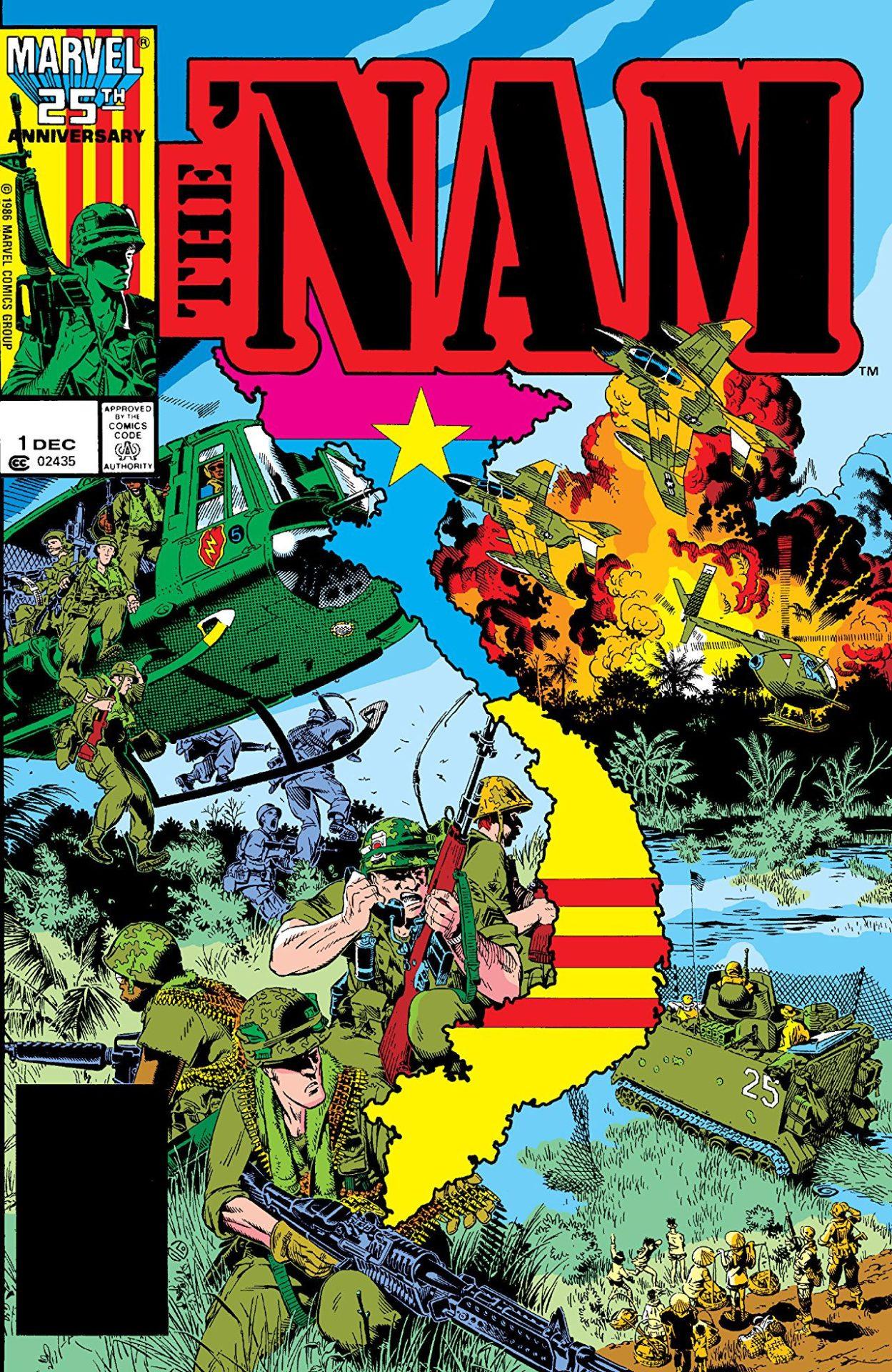 truyện tranh mỹ phản ánh chiến tranh việt nam