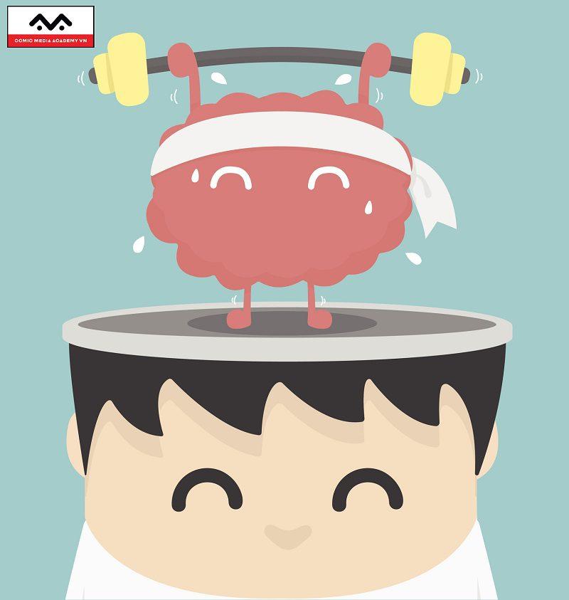 truyện tranh giúp kích thích trí não