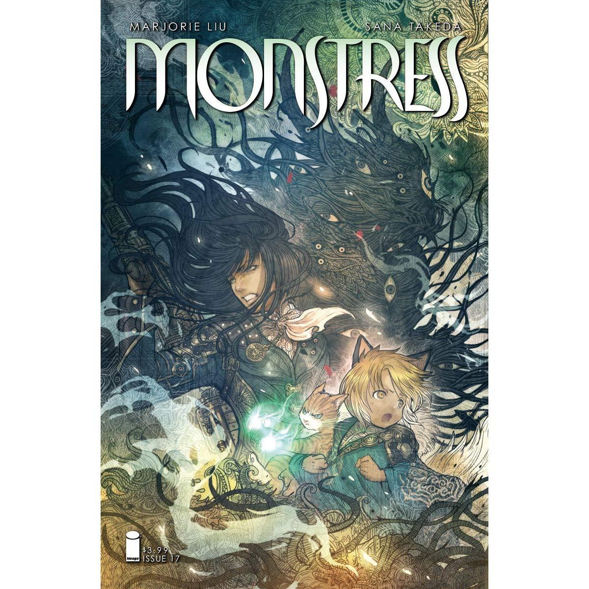 Monstress truyện tranh comic graphic novel hay nhất 2018