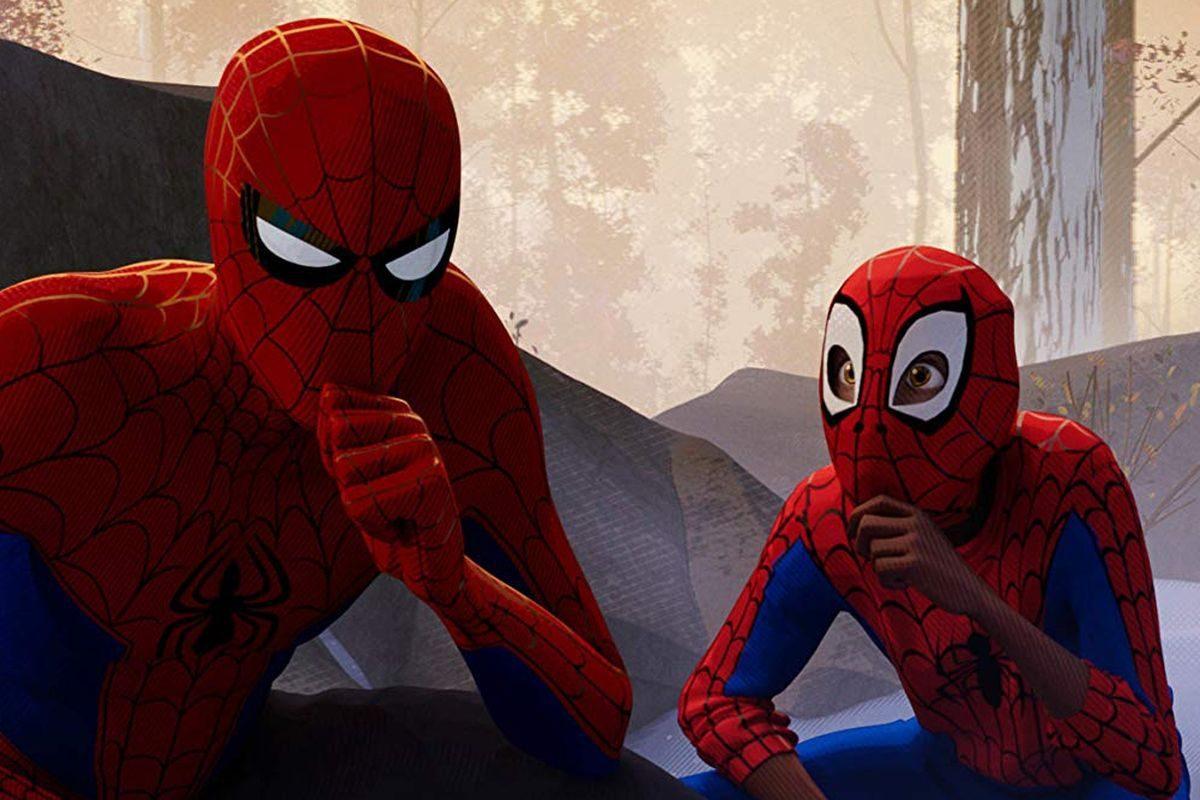 người nhện vũ trụ mới hoạt hình siêu anh hùng