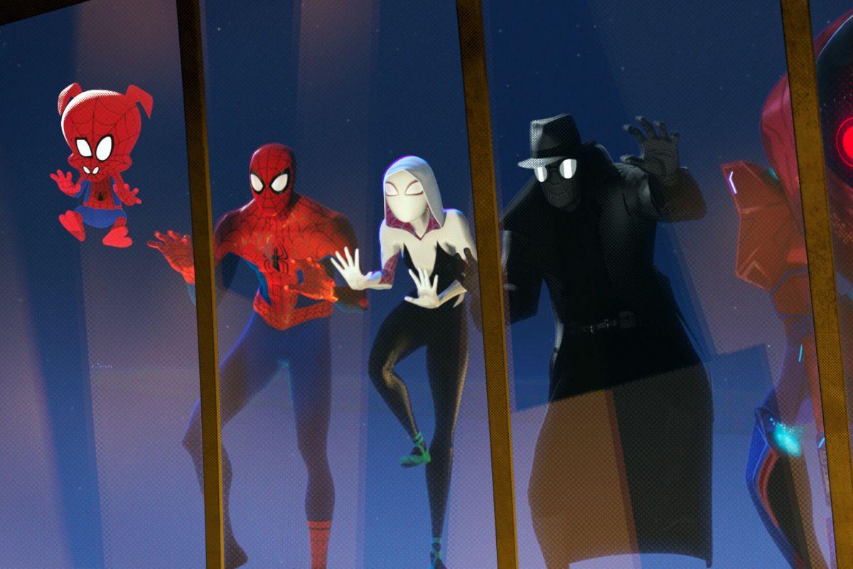 Hoạt hình siêu anh hùng phá vỡ mọi giới hạn Spider Man: Into The Spider Verse