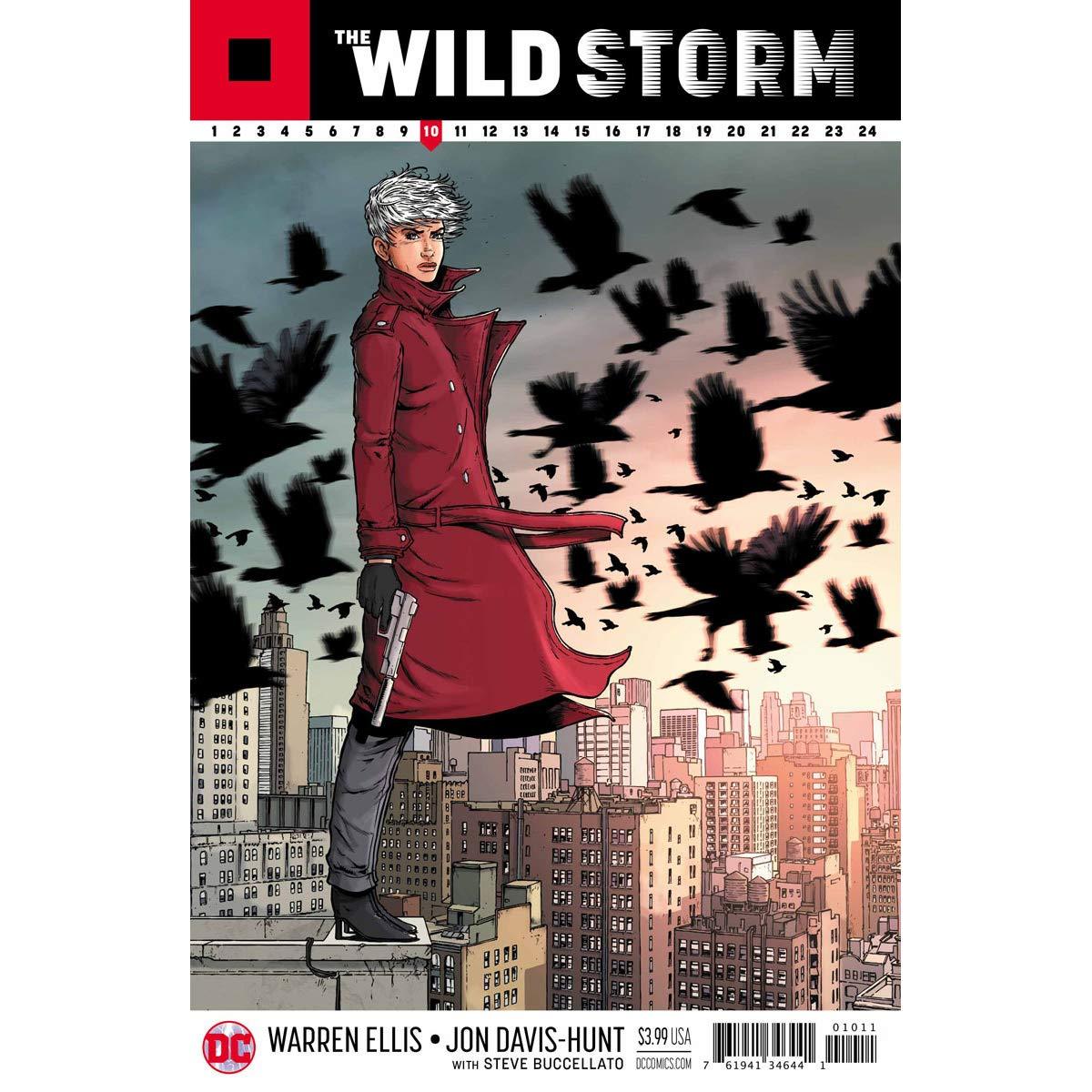 The Wild Storm (DC Comics) truyện tranh graphic novel hay nhất 2018