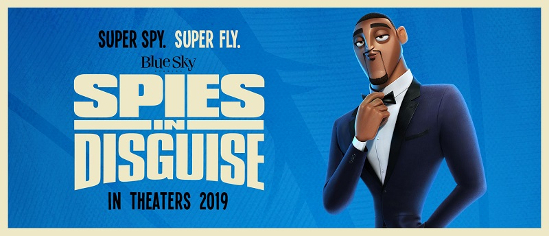 Spies in Disguise phim hoạt hình 2019