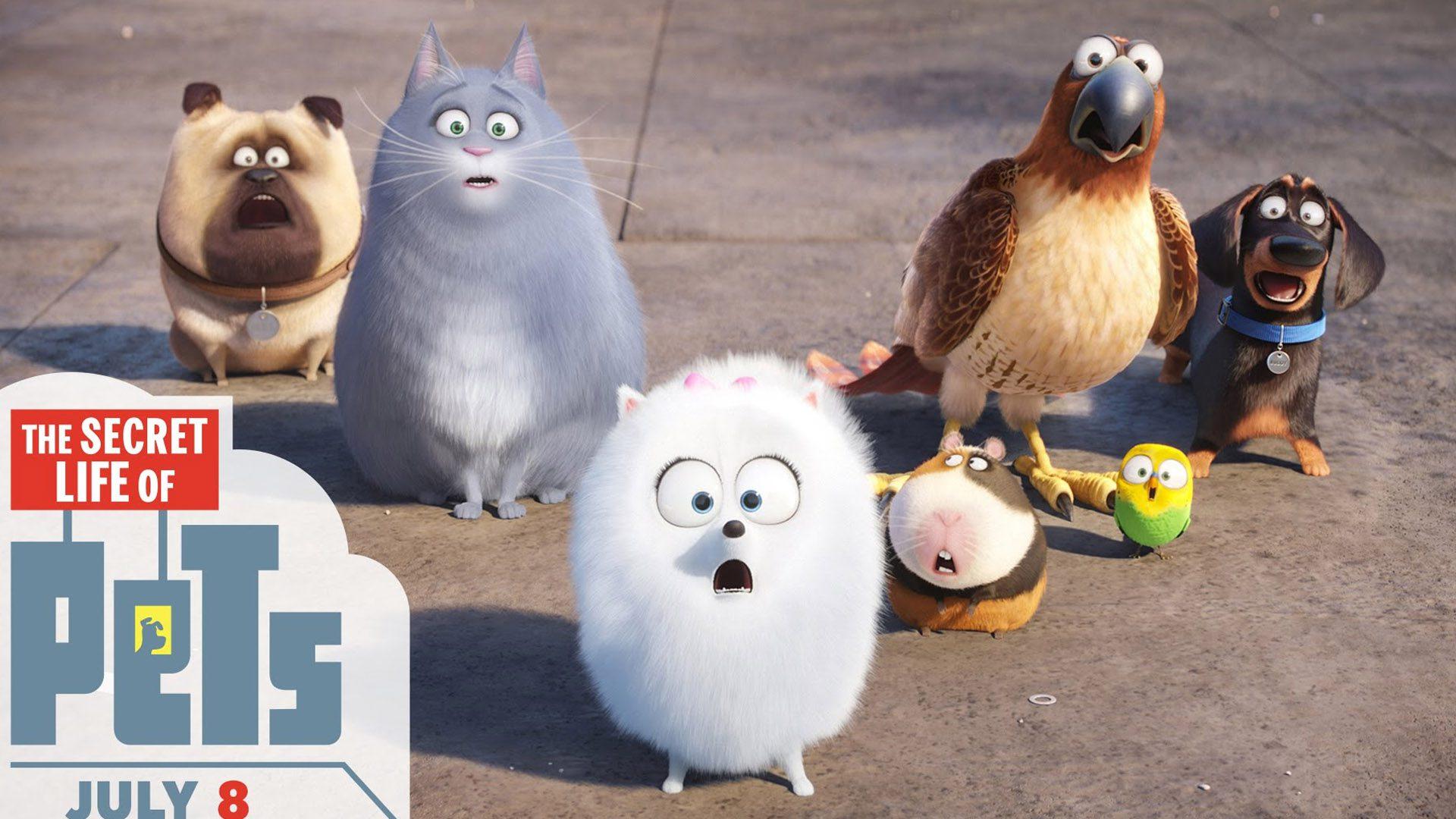 Phim hoạt hình Pets 2- đẳng cấp thú cưng phần 2