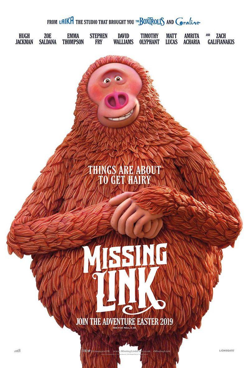 phim hoạt hình missing link 2019