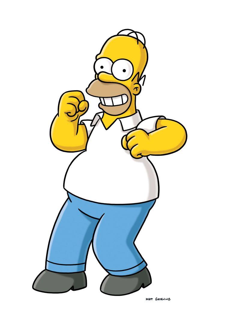 Nhân vật hoạt hình Simpsons Homer