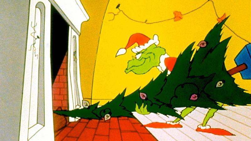 The grinch được bình chọn nằm trong top 50 nhân vật hoạt hình