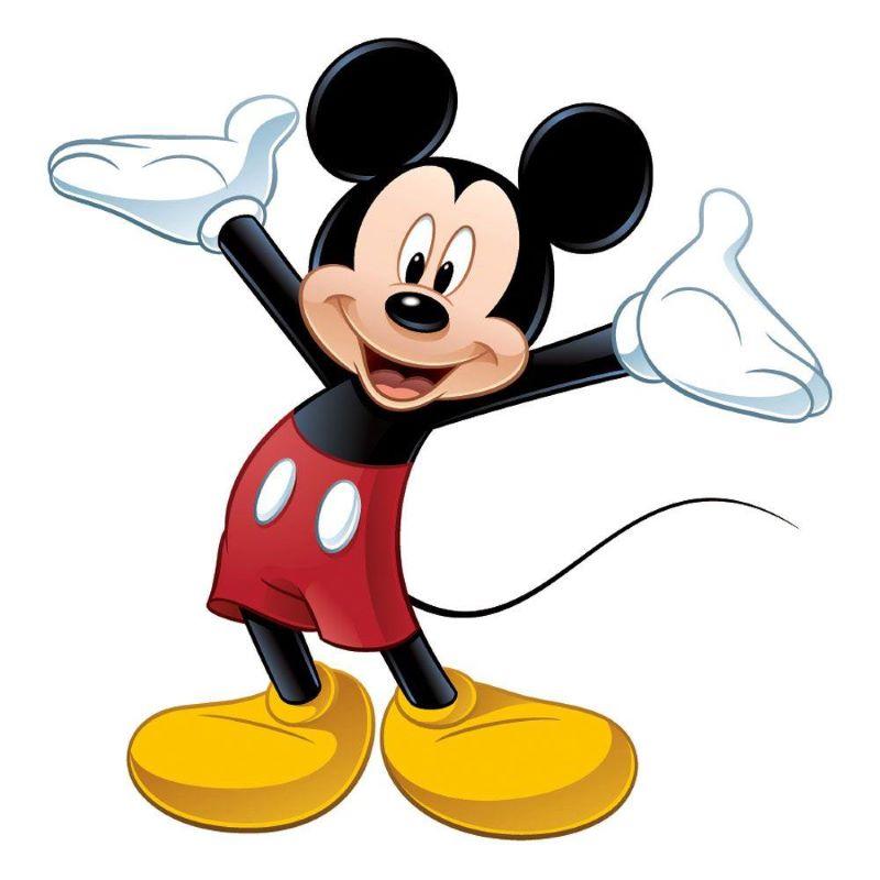chuột Mickey, top 50 nhân vật hoạt hình.