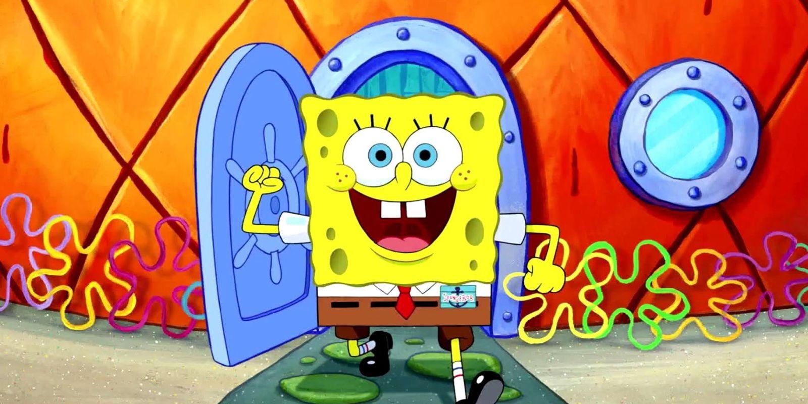 nhân vật spongebob trong top 50 nhân vật hoạt hình