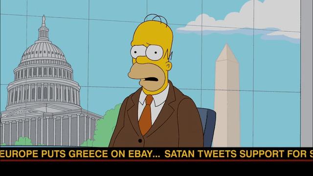 """Châu Âu loại bỏ Hy Lạp - Tiên tri về chính trị được """"Gia đình Simpson"""" nhắc đến trong một phần phim đã thành sự thật vào năm 2015"""