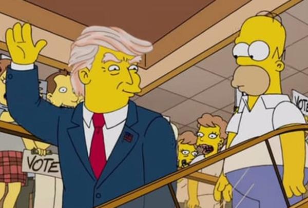 """Một nhân vật trong """"Gia đình Simpson"""" có ngoại hình rất giống với Tổng thống Hoa Kỳ hiện tại - Donald Trump"""