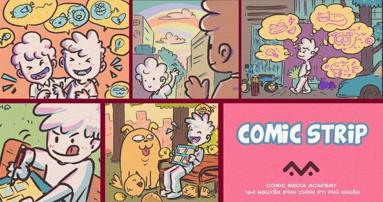 khái niệm về comic strip và sự khác biệt với truyện tranh
