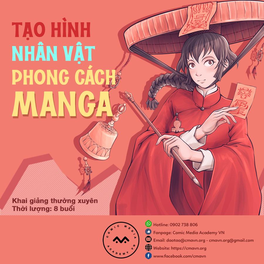 Tạo Hình Nhân Vật Theo Phong Cách Manga
